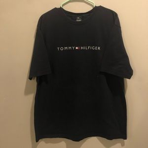 Tommy Hilfiger classic graphic t shirt spell out